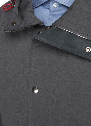 - ISAIA - Drawcord Hood Flap Pocket Parka
