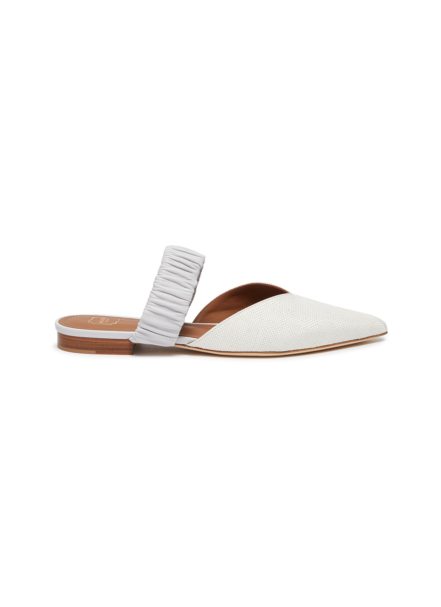 Malone Souliers MATILDA' LEATHER SLIDES""