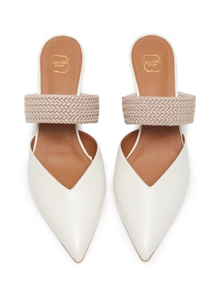 Detail View - Click To Enlarge - MALONE SOULIERS - Maisie' leather mules