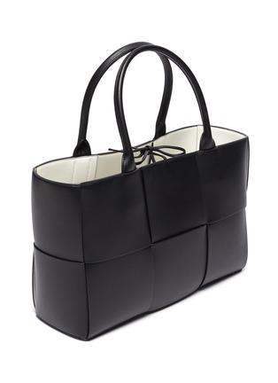 Detail View - Click To Enlarge - BOTTEGA VENETA - 'Arco' intrecciato leather tote