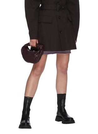 Figure View - Click To Enlarge - BOTTEGA VENETA - The Mini Jodi' intrecciato nappa leather bag