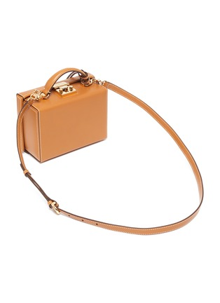 Detail View - Click To Enlarge - MARK CROSS - Grace' Top Handle Small Box Bag