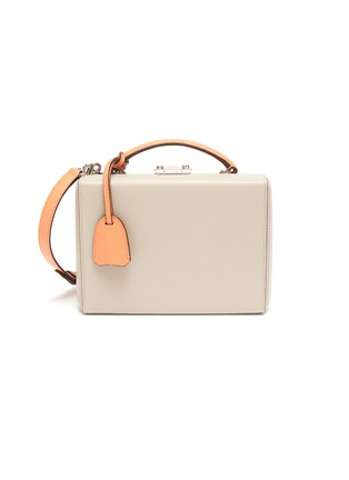 Main View - Click To Enlarge - MARK CROSS - 'Joni' Top Handle Leather Box Bag