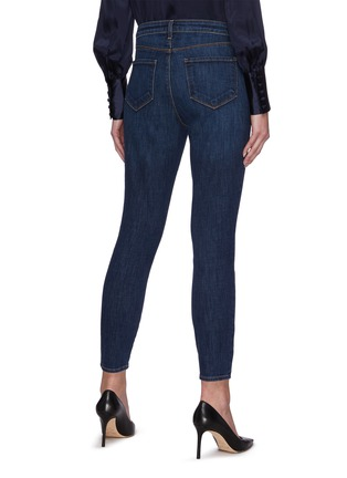 Back View - Click To Enlarge - L'AGENCE - Margot' High Rise Skinny Jeans