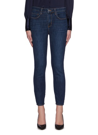 Main View - Click To Enlarge - L'AGENCE - Margot' High Rise Skinny Jeans