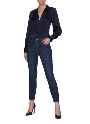 Figure View - Click To Enlarge - L'AGENCE - Margot' High Rise Skinny Jeans