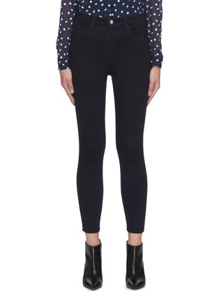 Main View - Click To Enlarge - L'AGENCE - Margot' dark wash skinny jeans