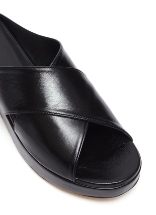 Detail View - Click To Enlarge - BY FAR - IGGY' Platform Mules