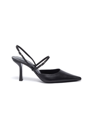 Main View - Click To Enlarge - BY FAR - 'Tiffany' Slingback Middle Band Leather Pumps