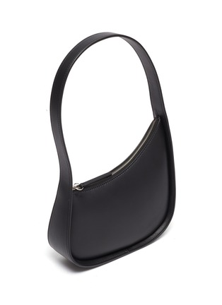 Detail View - Click To Enlarge - THE ROW - Half moon leather bag