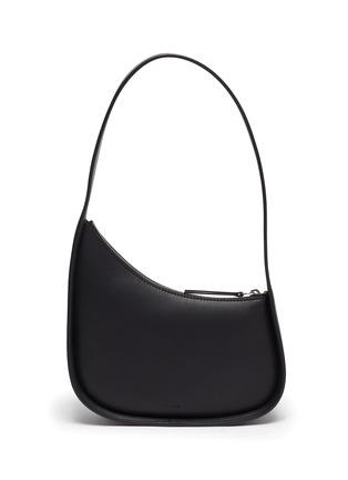 Main View - Click To Enlarge - THE ROW - Half moon leather bag