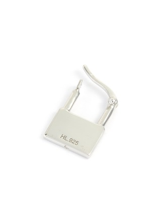 Detail View - Click To Enlarge - HATTON LABS - Padlock Sterling Silver Single Earring