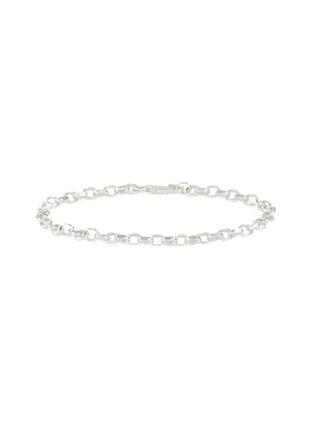 Main View - Click To Enlarge - HATTON LABS - Diamond cut belcher bracelet