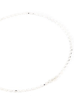 Detail View - Click To Enlarge - HATTON LABS - Diamond cut belcher necklace