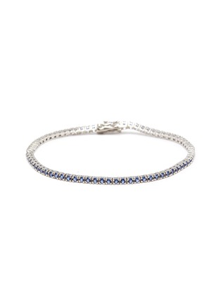 Main View - Click To Enlarge - HATTON LABS - Sterling silver tennis bracelet