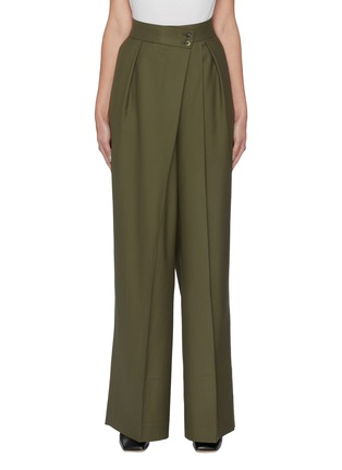 Main View - Click To Enlarge - PETAR PETROV - Wrap around waist suiting pants
