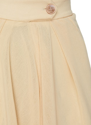 - PETAR PETROV - Pancy' basket weave crepe shorts