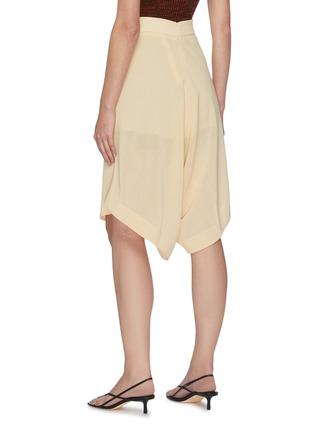 Back View - Click To Enlarge - PETAR PETROV - Pancy' basket weave crepe shorts