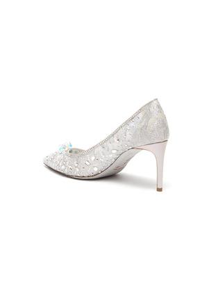 - RENÉ CAOVILLA - Cinderella' Crystal Embellished Lace Pumps