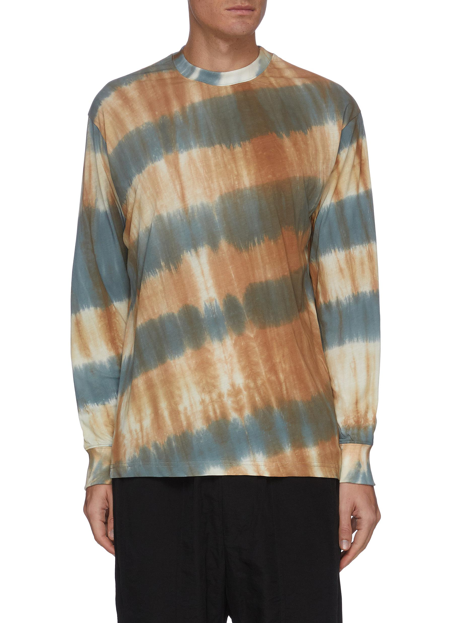 Song For The Mute TIE DYE LONG SLEEVE T-SHIRT