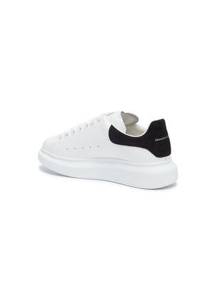- ALEXANDER MCQUEEN - 'Oversized Sneakers' in Calfskin Leather