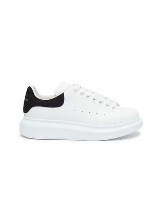 Main View - Click To Enlarge - ALEXANDER MCQUEEN - 'Oversized Sneakers' in Calfskin Leather