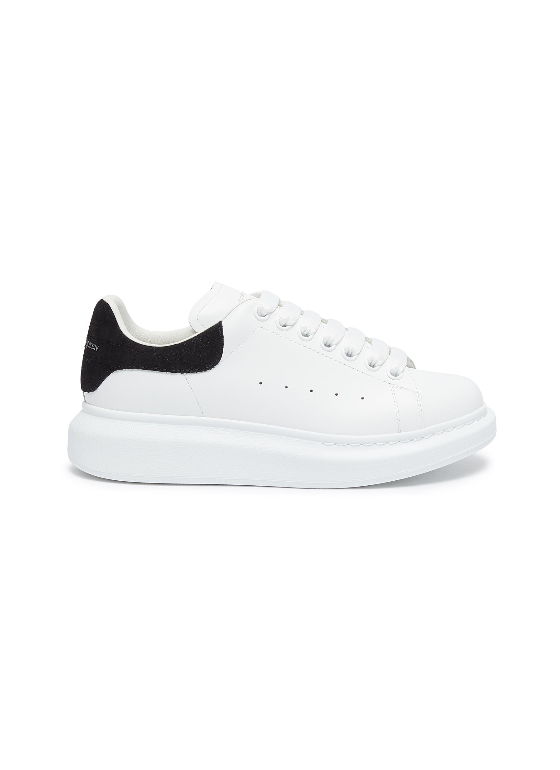 'Oversized Sneakers' in Calfskin Leather