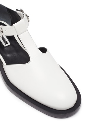 Detail View - Click To Enlarge - JIL SANDER - Side cutout mary jane flats