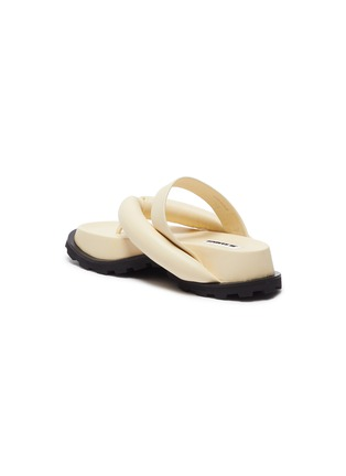 - JIL SANDER - Cleated sole thong sandals