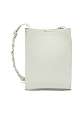 Main View - Click To Enlarge - JIL SANDER - 'Tangle' braided shoulder strap leather small crossbody bag