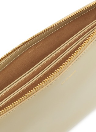 Detail View - Click To Enlarge - JIL SANDER - 'Tootie' small leather shoulder bag