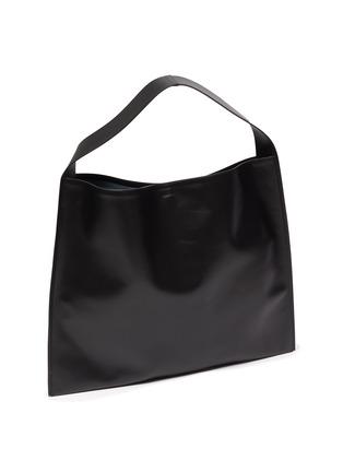 Detail View - Click To Enlarge - JIL SANDER - 'Border' leather hobo bag