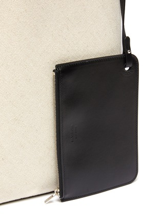 - JIL SANDER - Buckled quilted leather strap hobo bag