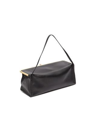 Detail View - Click To Enlarge - JIL SANDER - 'Goji Prysm' leather top handle bag