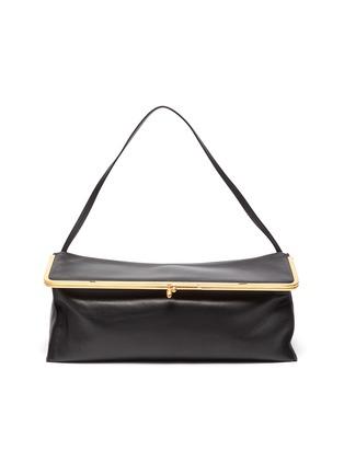 Main View - Click To Enlarge - JIL SANDER - 'Goji Prysm' leather top handle bag