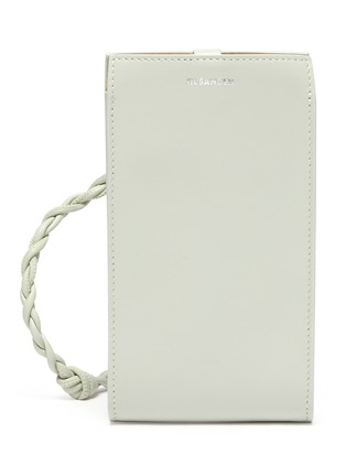 Main View - Click To Enlarge - JIL SANDER - 'Tangle' braided strap leather phone case