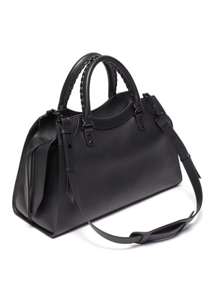 Detail View - Click To Enlarge - BALENCIAGA - 'Neo Classic City' leather shoulder bag