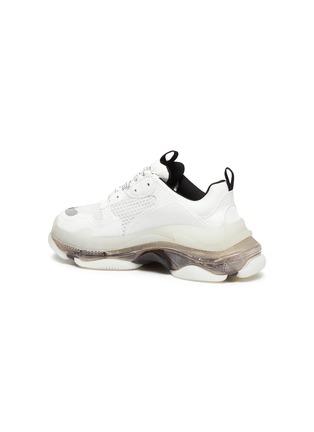 - BALENCIAGA - Triple S' Duo-tone Translucent Platform Sole Sneakers