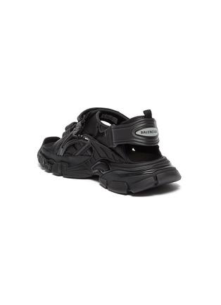 - BALENCIAGA - Logo embossed velcro strap track sandals