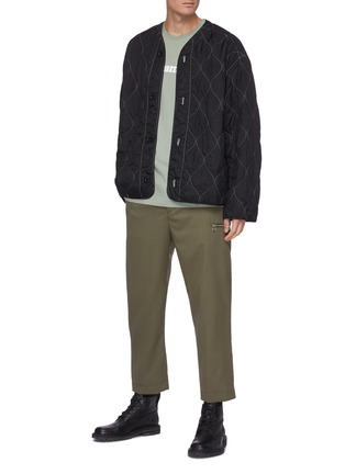 Figure View - Click To Enlarge - OAMC - Quilted ripstop liner jacket