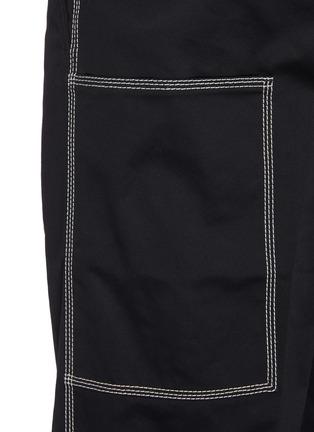 - OAMC - Triple stitch detail patch pocket gabardine chino pants