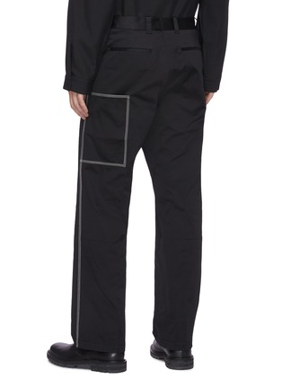 Back View - Click To Enlarge - OAMC - Triple stitch detail patch pocket gabardine chino pants