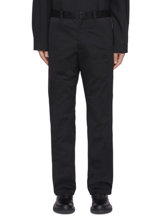 Main View - Click To Enlarge - OAMC - Triple stitch detail patch pocket gabardine chino pants