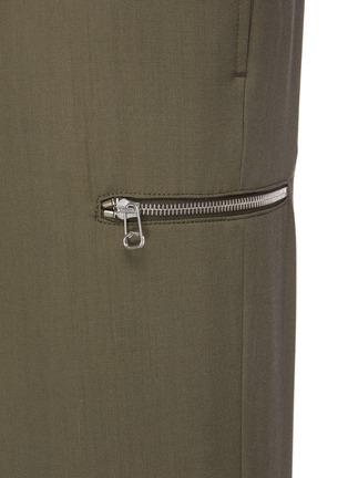 - OAMC - Belted drop crotch crop pants
