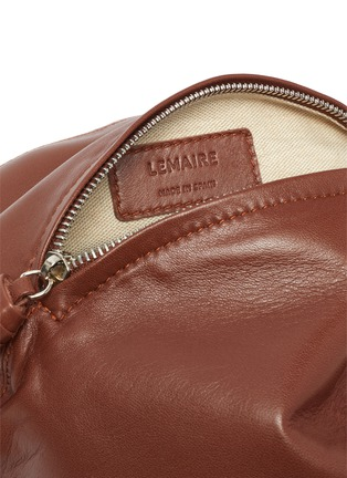 Detail View - Click To Enlarge - LEMAIRE - 'Purse' Knotted Top Handle Leather Bag