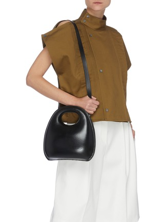 Figure View - Click To Enlarge - LEMAIRE - 'Egg' Sculpted Leather Bag