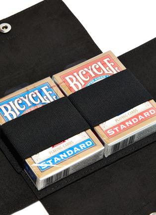 Detail View - Click To Enlarge - AU DÉPART - Monogram Double Slot Playing Card Case