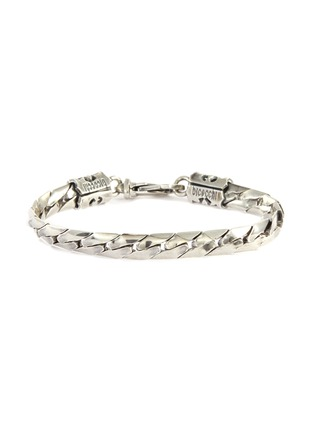 Main View - Click To Enlarge - EMANUELE BICOCCHI - Herringbone Chain Silver Bracelet