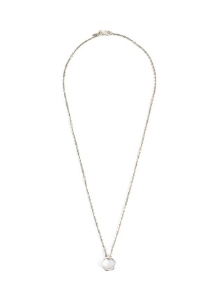 Main View - Click To Enlarge - EMANUELE BICOCCHI - Hexagonal Nut Silver Pendant Necklace