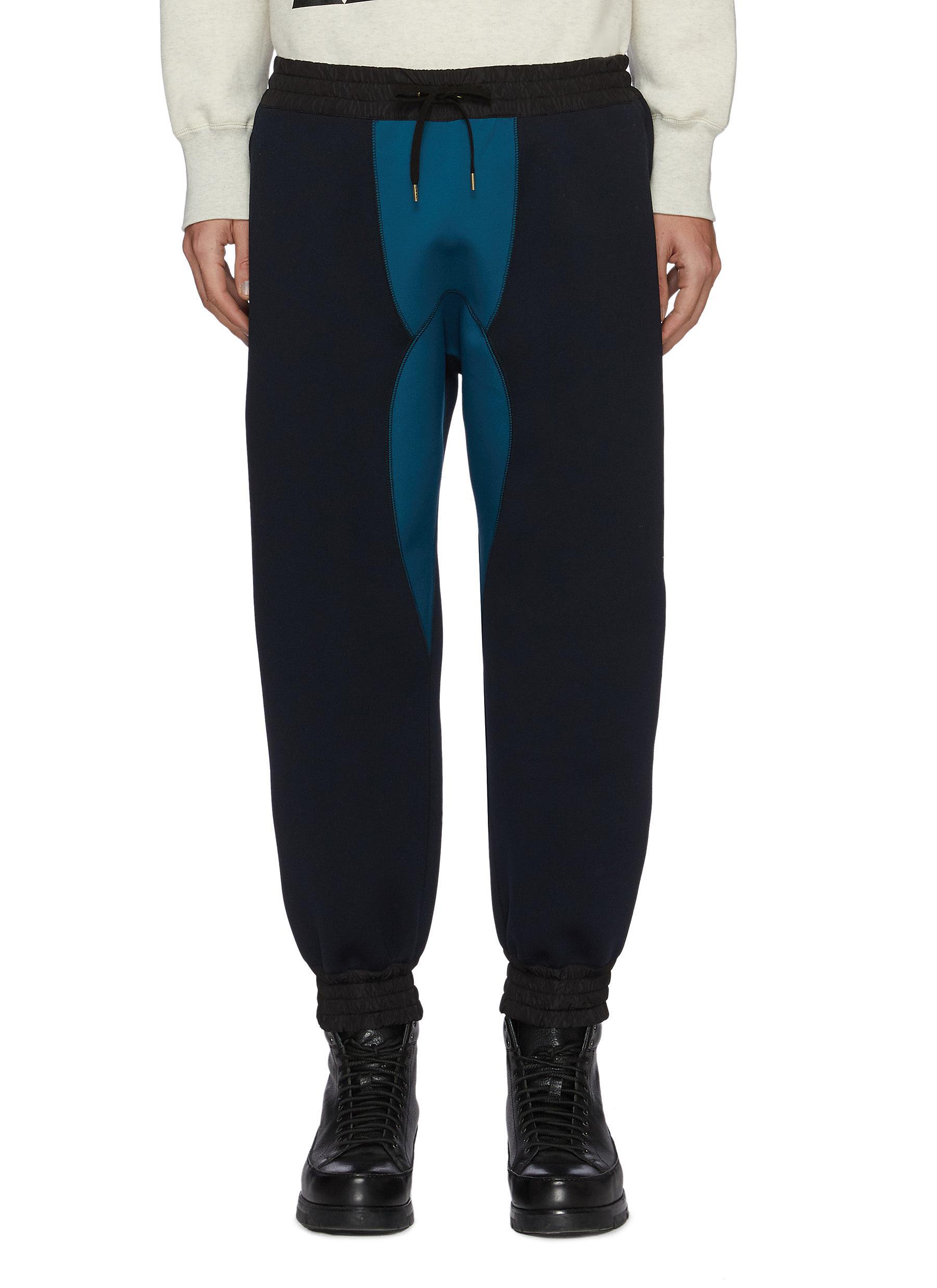 Contrast panel jogger pants - KOLOR - Modalova